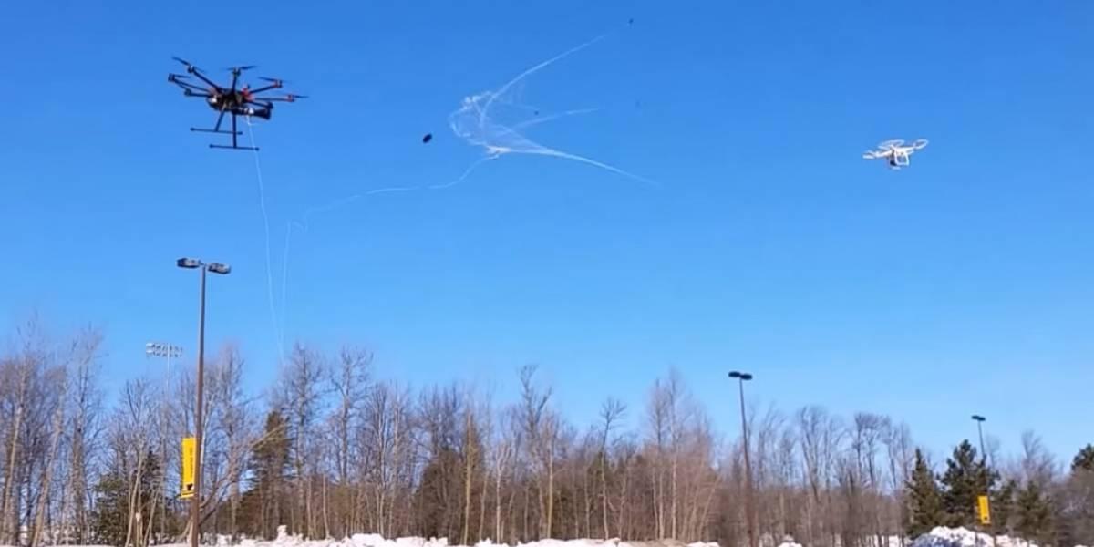 Robotic Falconry, el dron que captura a otros con una red