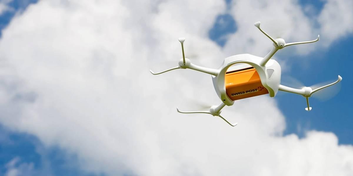 Servicio postal de Suiza comienza a probar sus envíos con drones