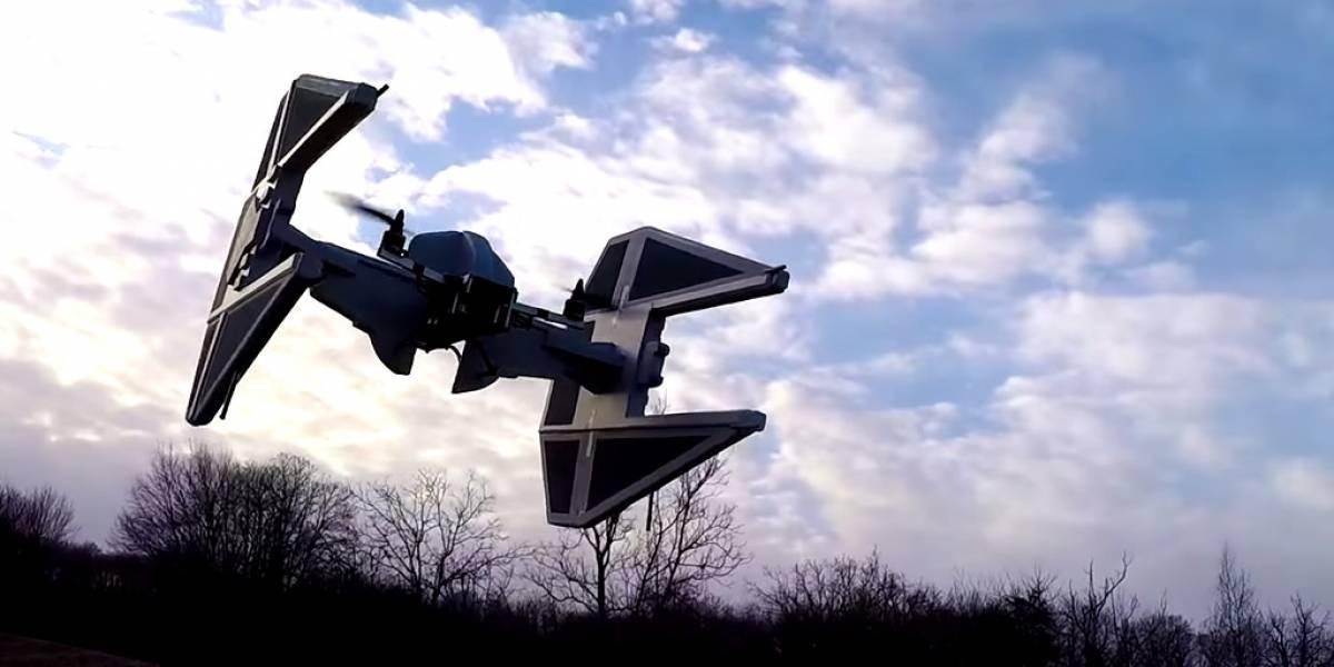 Darth Vader estaría orgulloso de este dron
