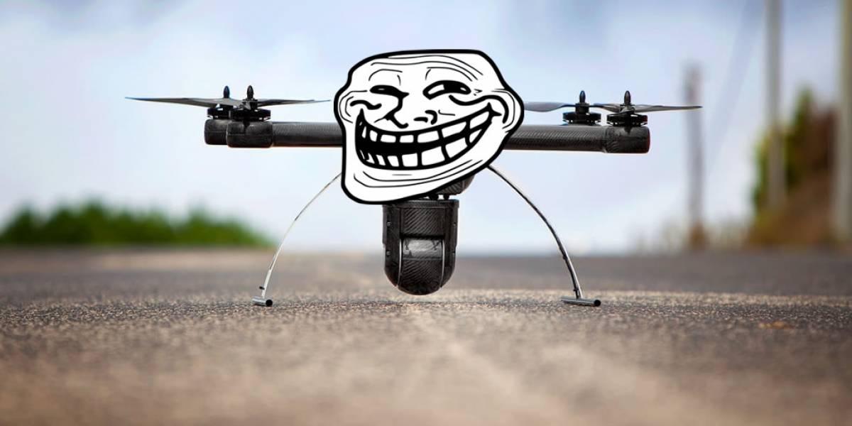 Dron interrumpió enfrentamiento del Abierto de Estados Unidos