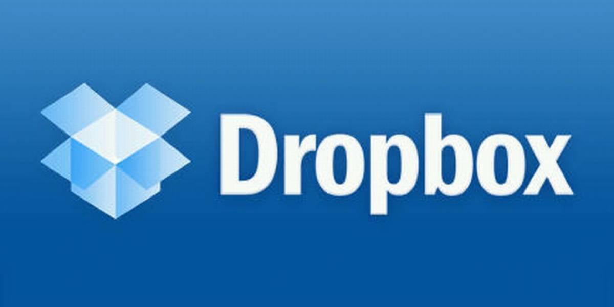 Dropbox ya sobrepasó los 100 millones de usuarios