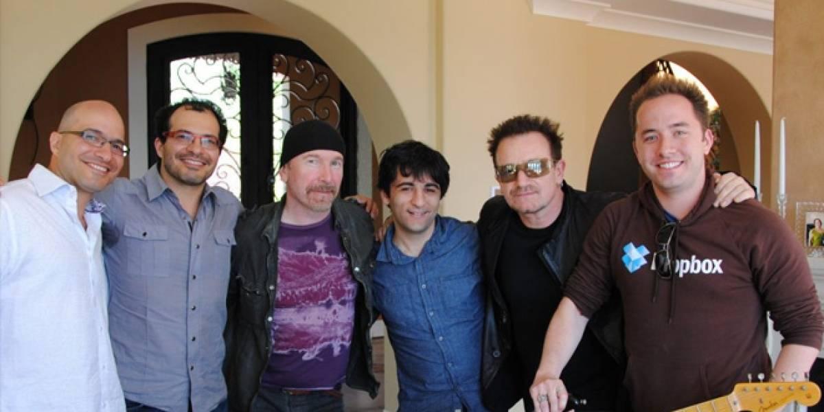 Bono y The Edge invierten en Dropbox