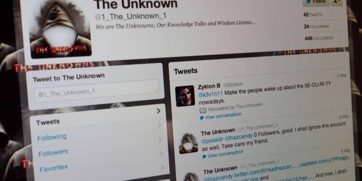 Grupo hacker Los Desconocidos atacó sitio web de la NASA