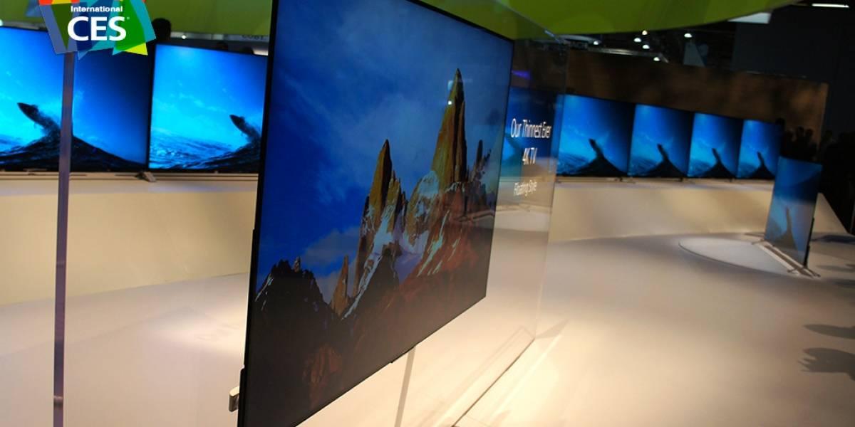 Tendencias de TV en 2015: ultradelgadas, curvas y mucho 4K #CES2015