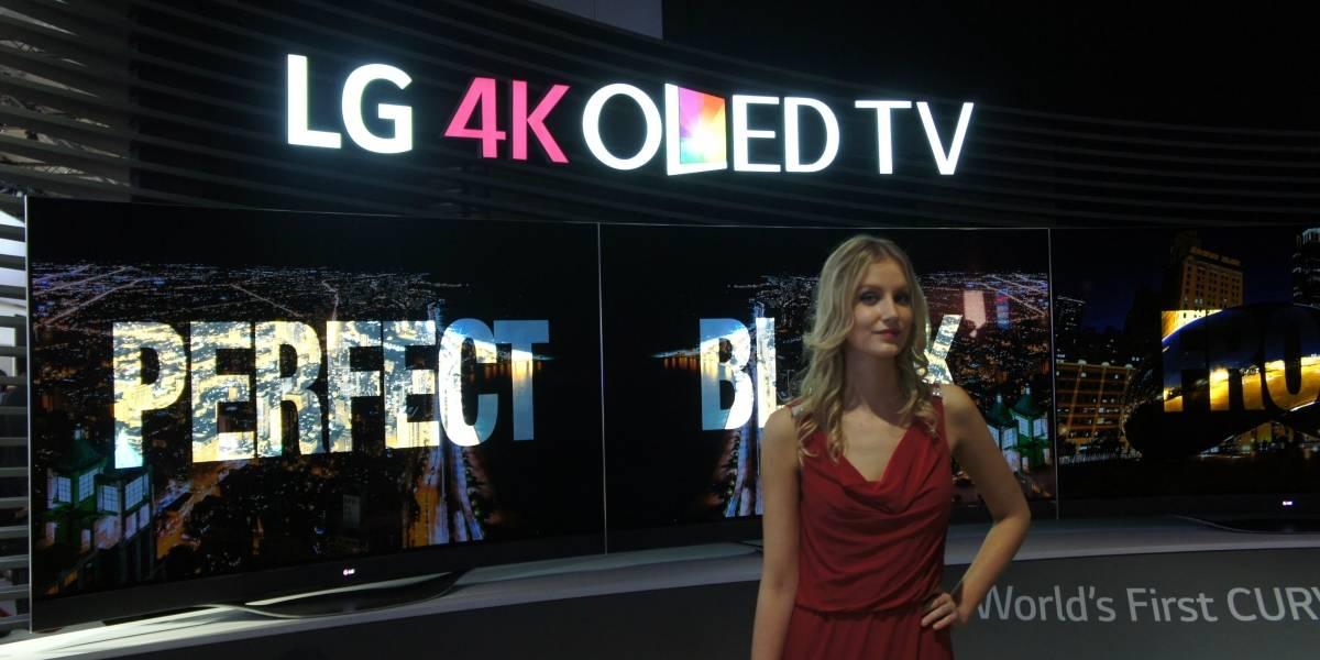 LG reveló los precios de sus enormes televisores OLED y LCD 4K