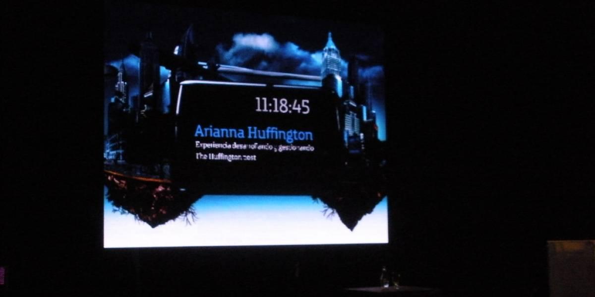Arianna Huffington en Conecta 2010