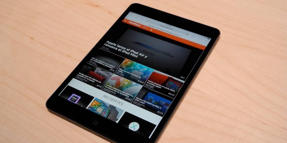 iPad Mini Retina ya a la venta