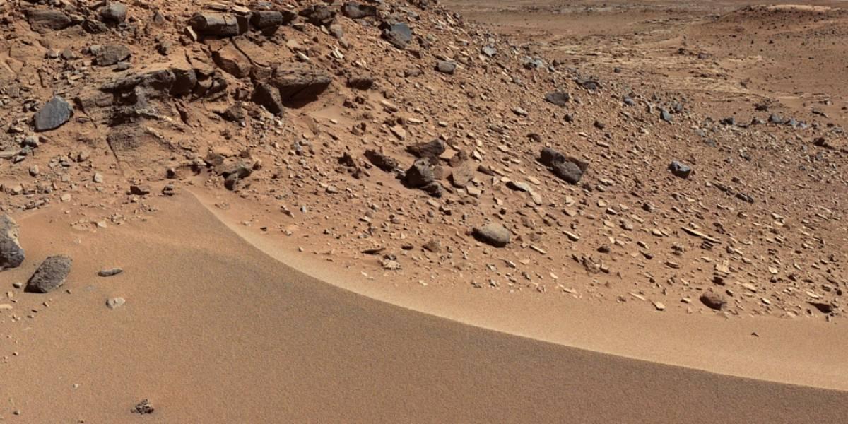Curiosity intentará escalar una duna en Marte