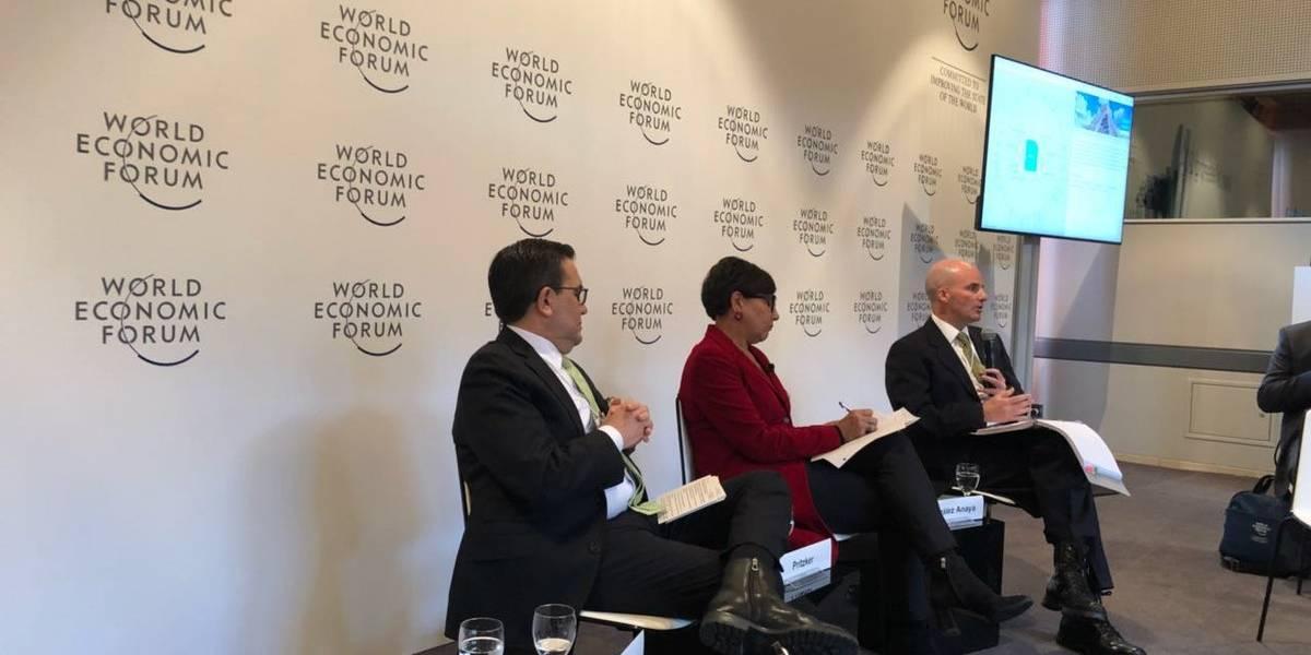Secretario de Hacienda defiende economía de México en foro de Davos