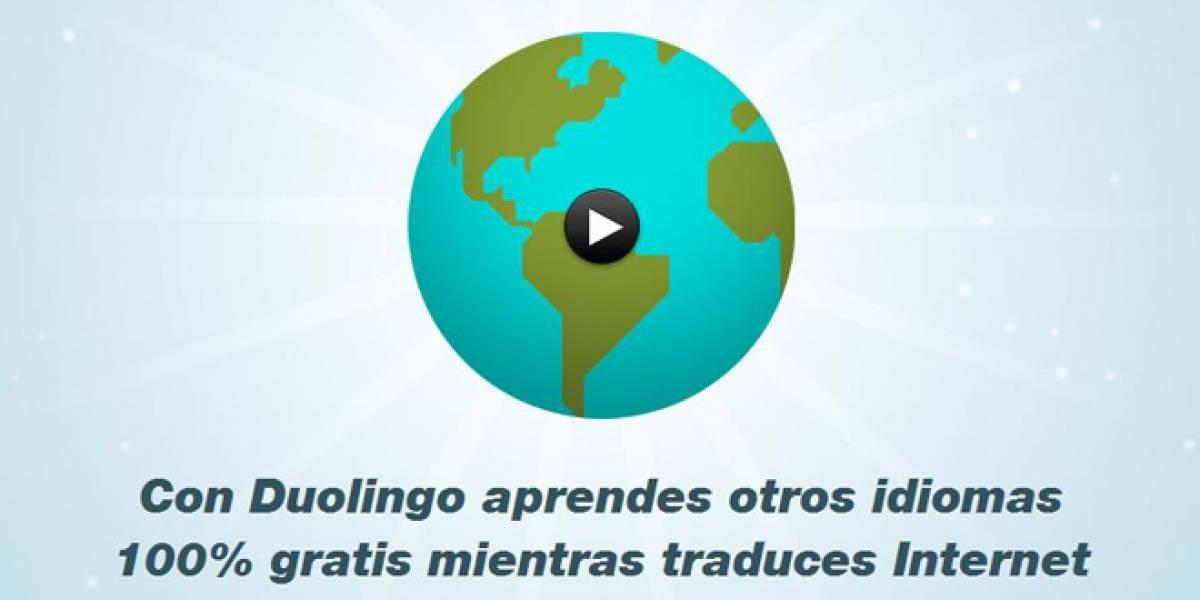 Duolingo ahora para todos: Un idioma gratis a cambio de traducir textos de Internet