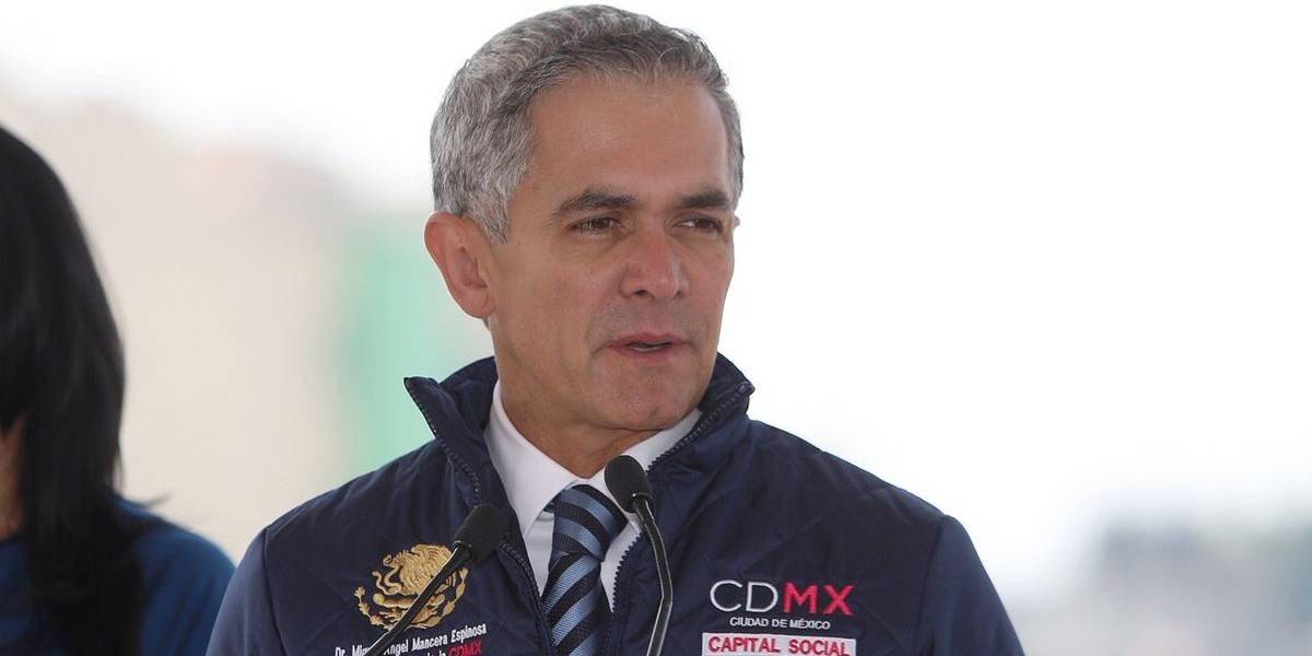 Mancera pide 'blindar' frontera de la CDMX con el Edomex