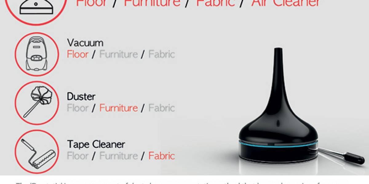 Du.Static: un concepto para limpiar el aire de tu casa y sacar el polvo a tus muebles