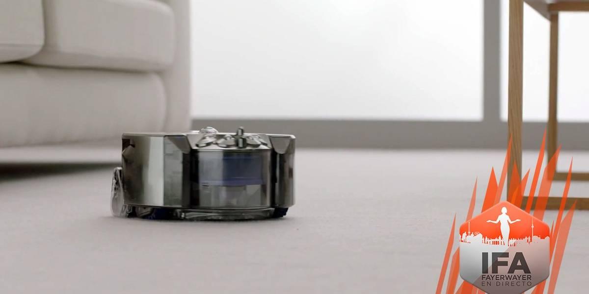 Dyson lanza un robot-aspirador con visión de 360º #IFA2014