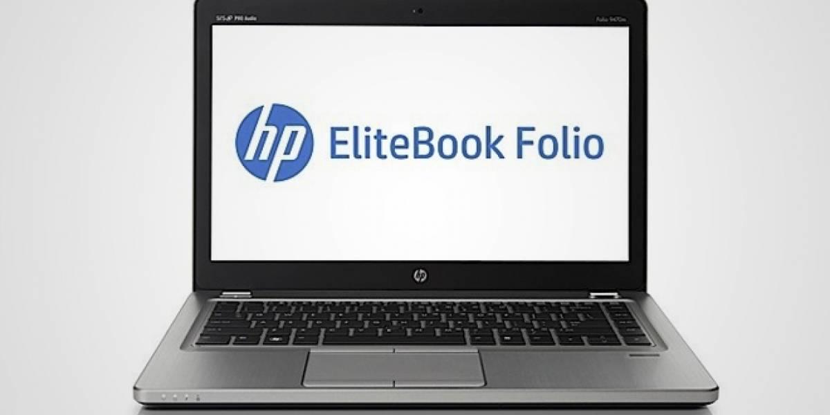 HP presenta el Elitebook Folio 9470m, otro Ultrabook con diseño sobrio y elegante