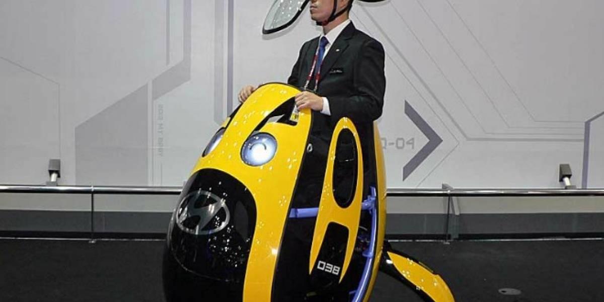 Hyundai E4U, un huevomóvil para transporte personal