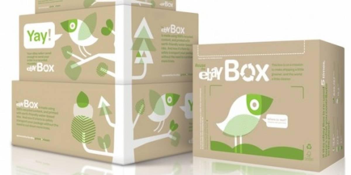 eBay se pone verde a la hora de empaquetar
