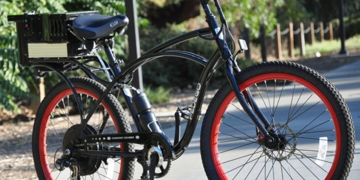 Signa: bici eléctrica que funciona con agua