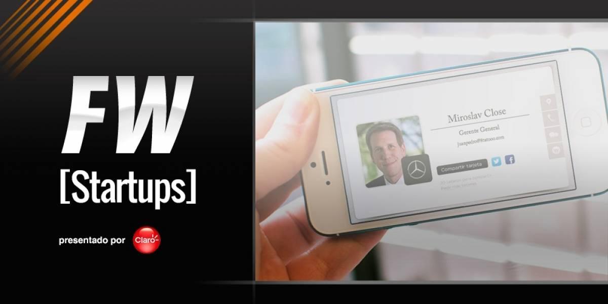 eCardFlow mantiene tus tarjetas de presentación actualizadas [FW Startups]