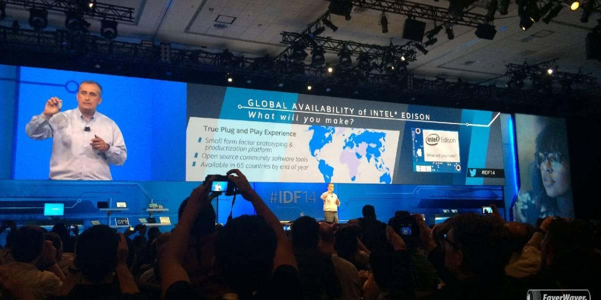 Intel pone a la venta Edison, un pequeño PC compatible con Arduino #IDF14