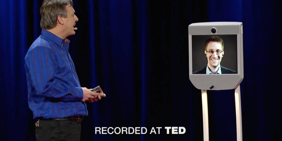 """Edward Snowden aparece en TED: """"Las revelaciones más grandes están por venir"""""""