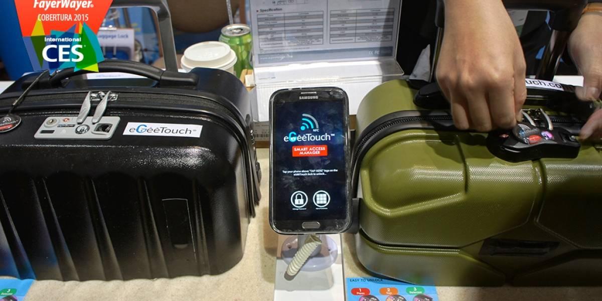 EgeeTouch te permite abrir tu maleta con NFC #CES2015