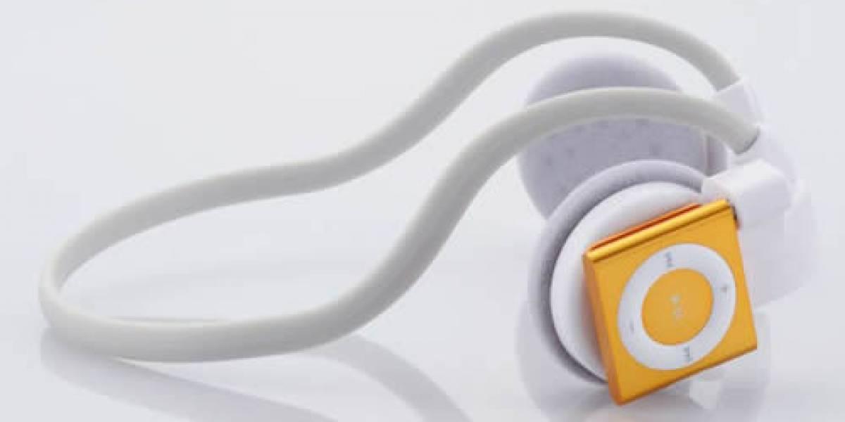 "Elecom lanza audífonos ""inalámbricos"" ideales para que te roben el iPod Shuffle"