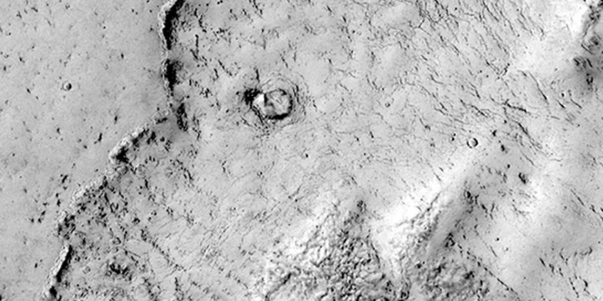 """La NASA encuentra un """"elefante"""" en Marte"""