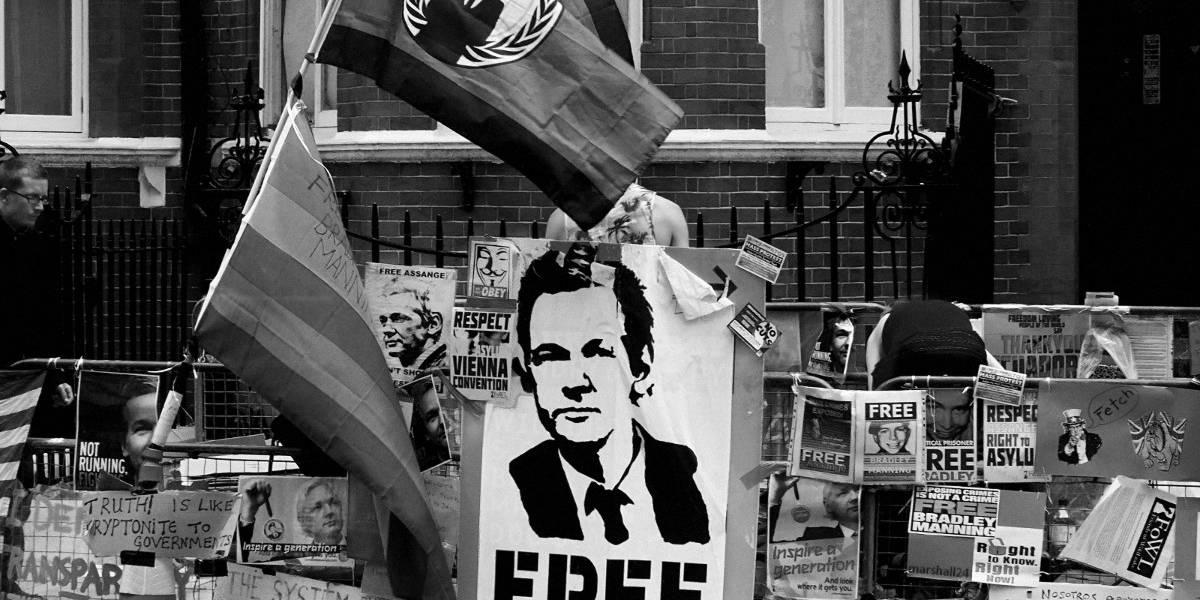 EE.UU. y Reino Unido monitorearon a Wikileaks y sus partidarios
