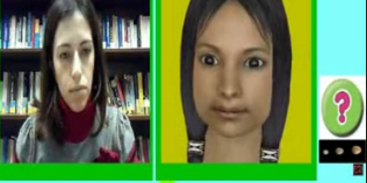 """""""Espejo virtual"""" ayuda a niños con parálisis cerebral a aprender sobre emociones"""