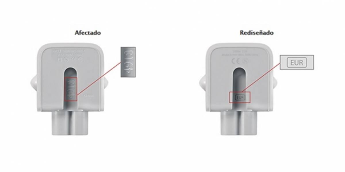 Sernac alerta: En Chile también hay adaptadores de Apple con fallas