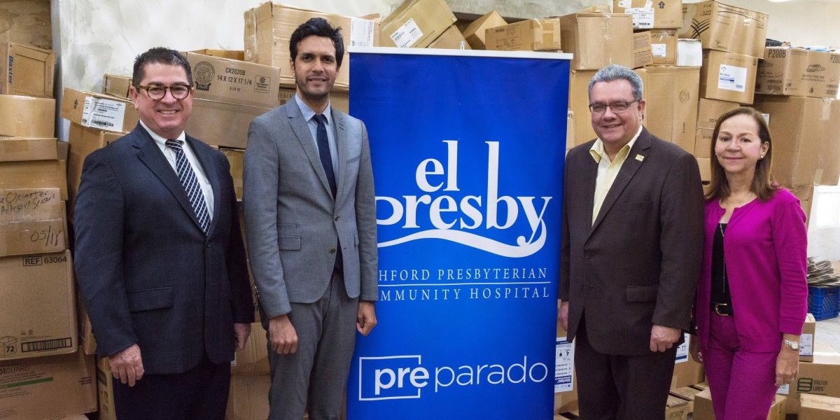 El Presby recibe donativos de BlueCross BlueShield Association y otras entidades