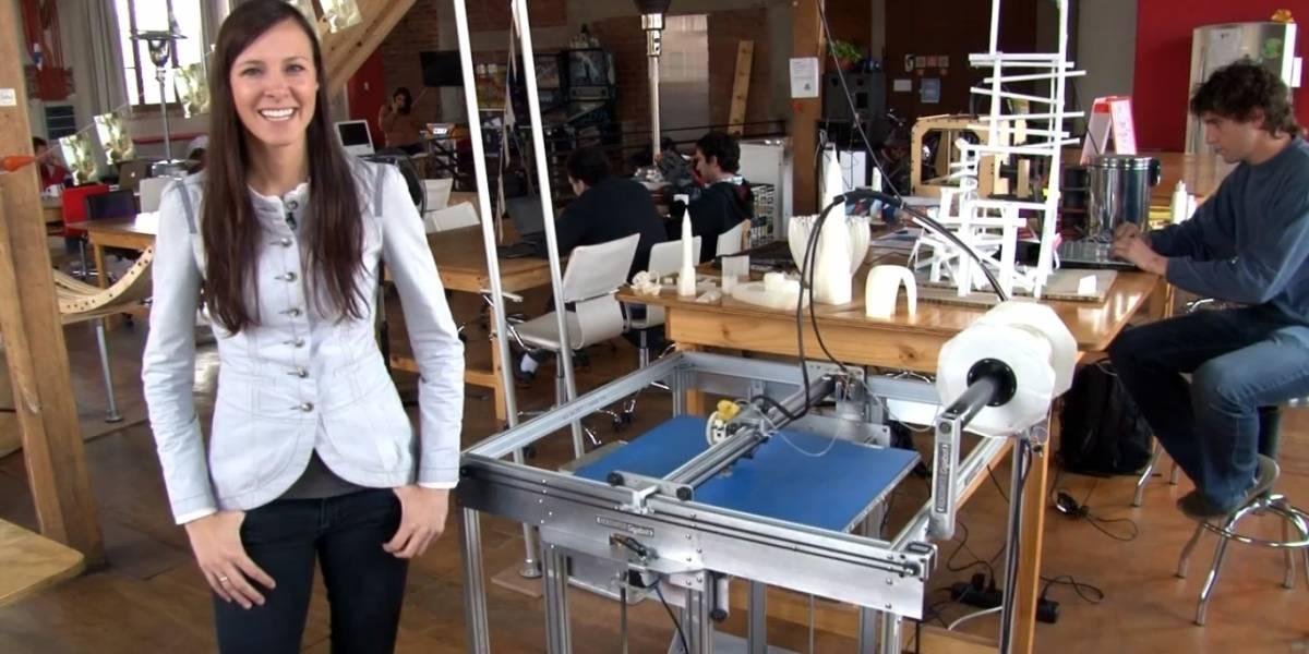La mujer tras una de las impresoras 3D más grandes del mundo [FW Interviú]