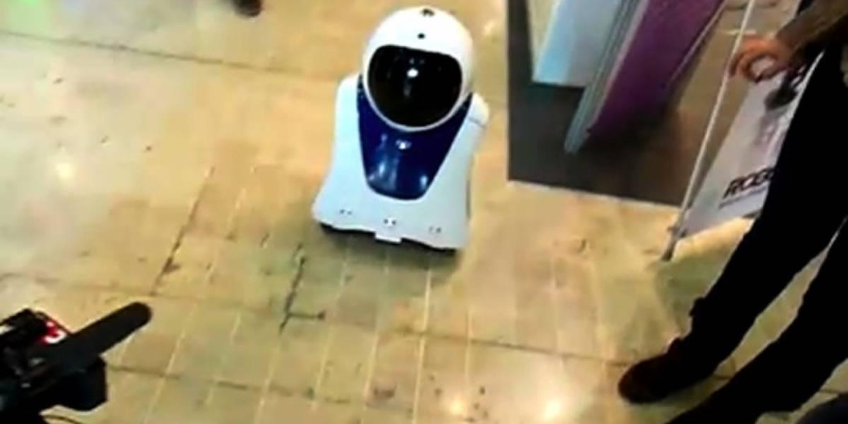 E-One, un robot francés de telepresencia