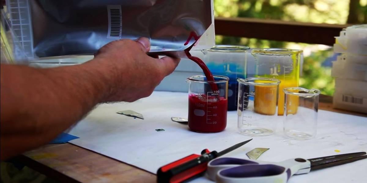 Cartuchos de impresora Epson desperdician un 15% de tinta