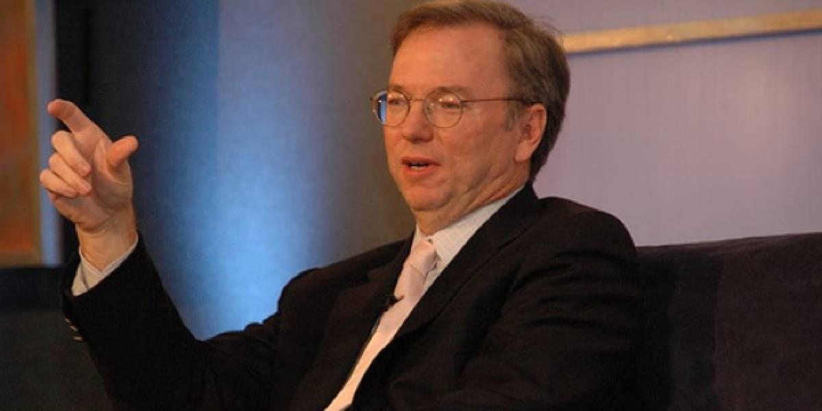 Eric Schmidt dice que la compra de Motorola no fue solamente por las patentes