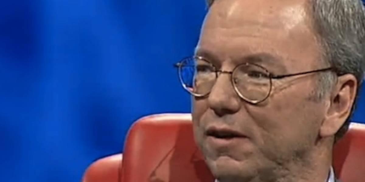 Eric Schmidt se culpa a sí mismo por el fracaso de Google en redes sociales