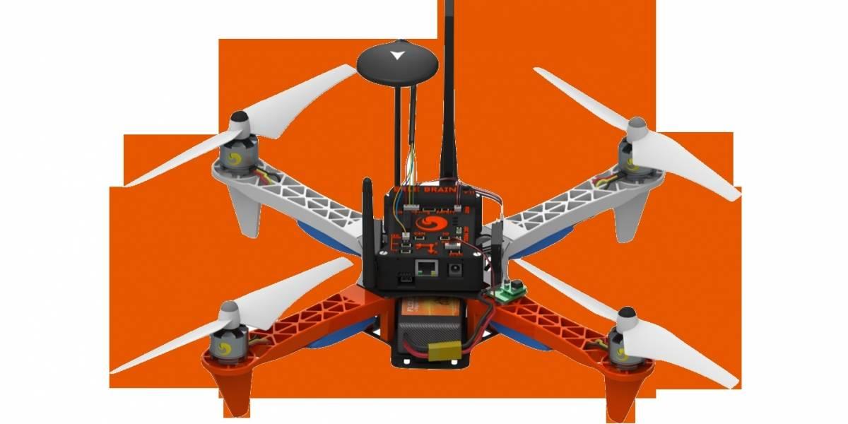 Este es el primer drone potenciado por Ubuntu
