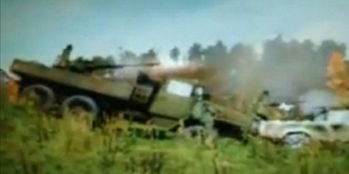 Cadena británica de TV no distingue entre un videojuego y un ataque paramilitar real