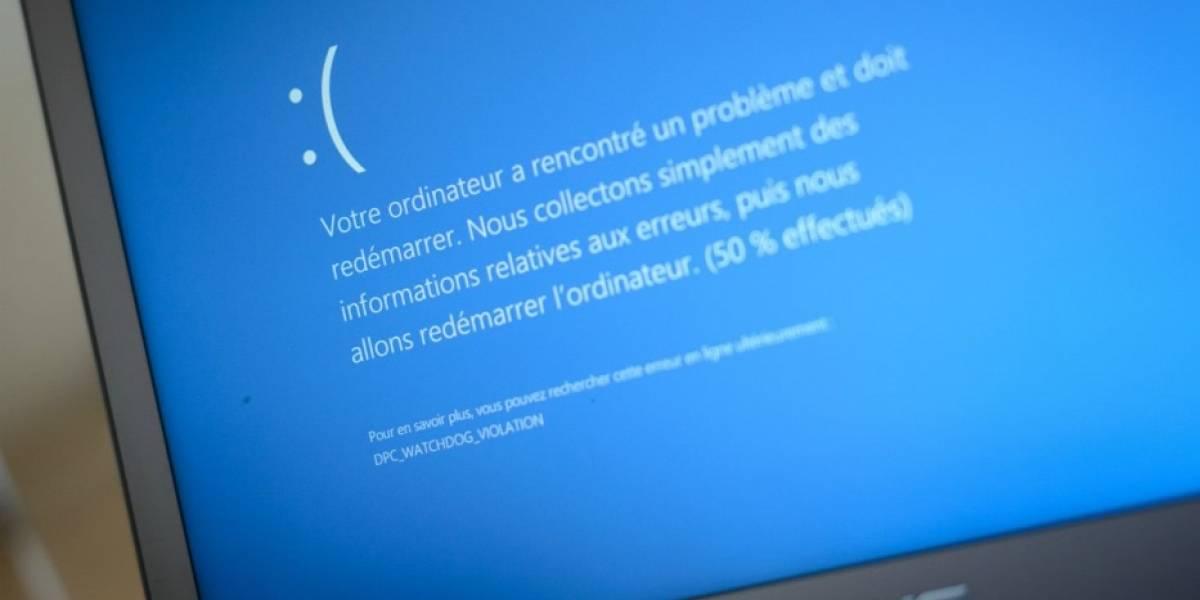 Actualización de Windows 10 causa pantallazo azul en algunas computadoras