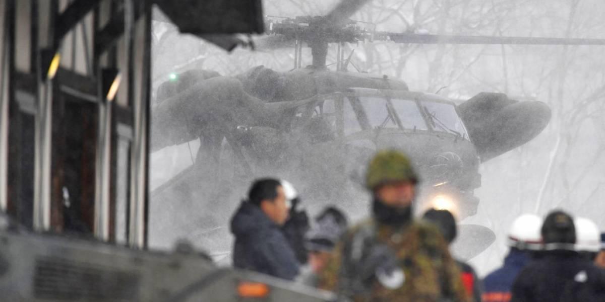 FOTOS. Erupción volcánica deja al menos un muerto en Japón