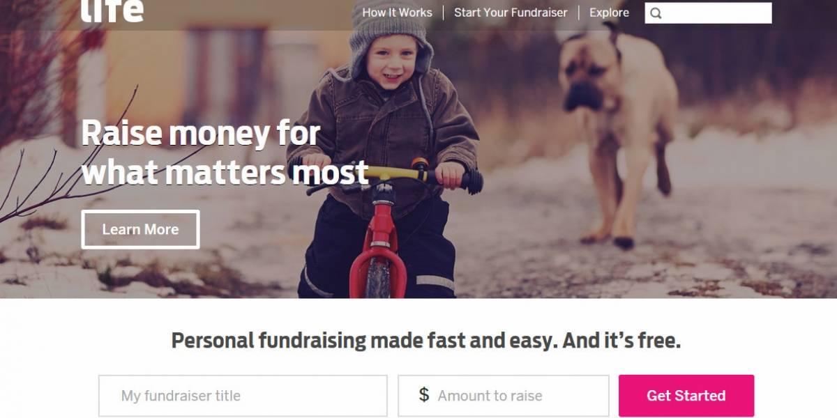 Indiegogo lanza sitio de crowdfunding para causas personales