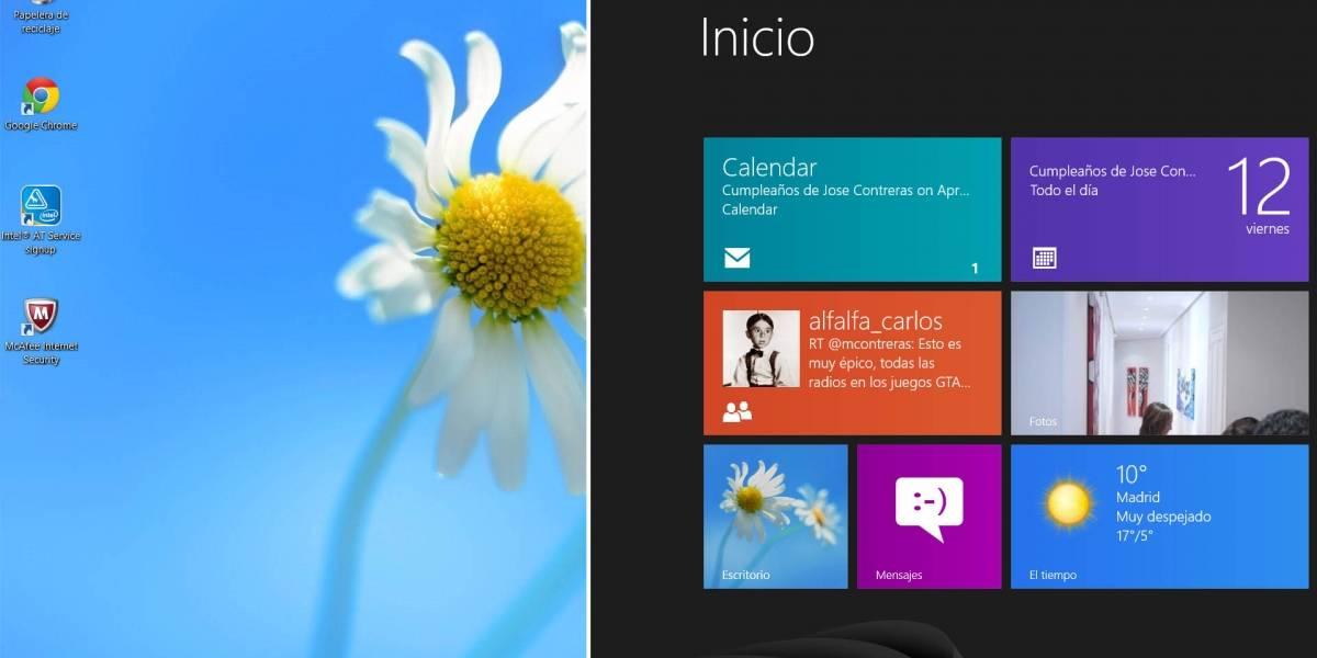 Como mejorar Windows 8 para el usuario de escritorio