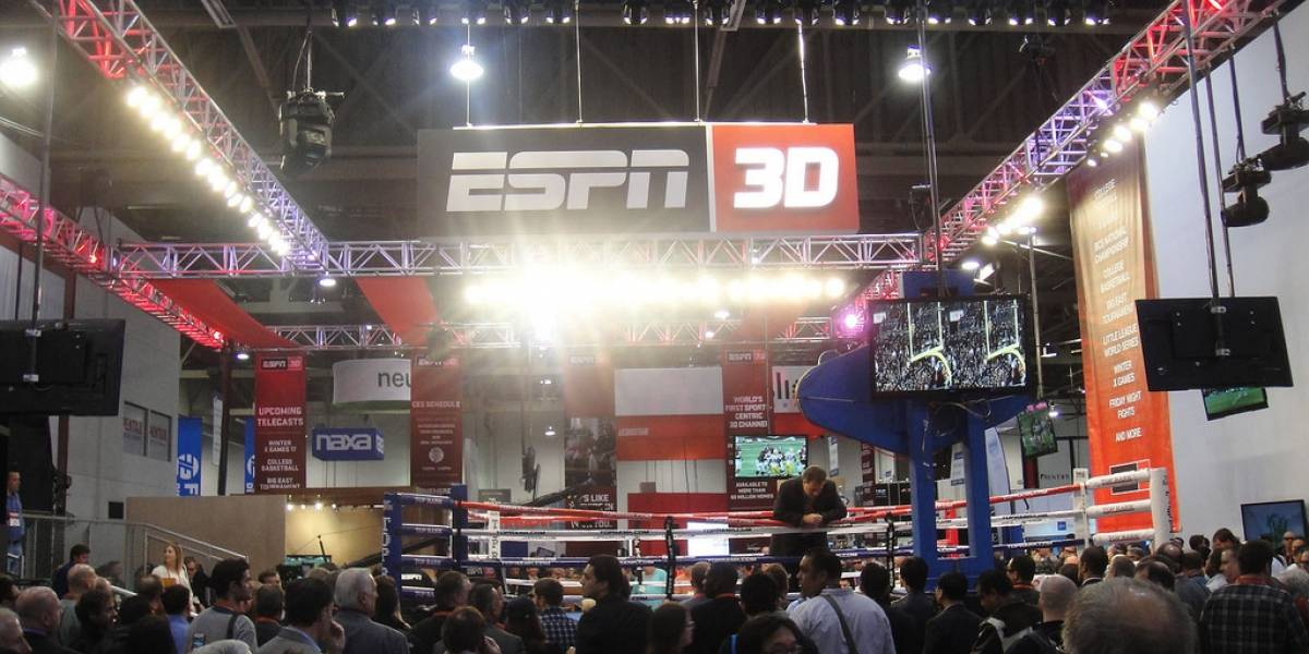 ESPN dejará de transmitir en 3D para fin de año