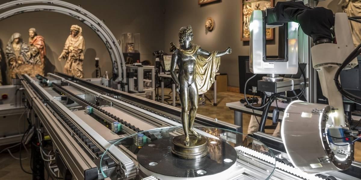 Escáner digital 3D inmortaliza colección de esculturas de Frankfurt en pocos minutos