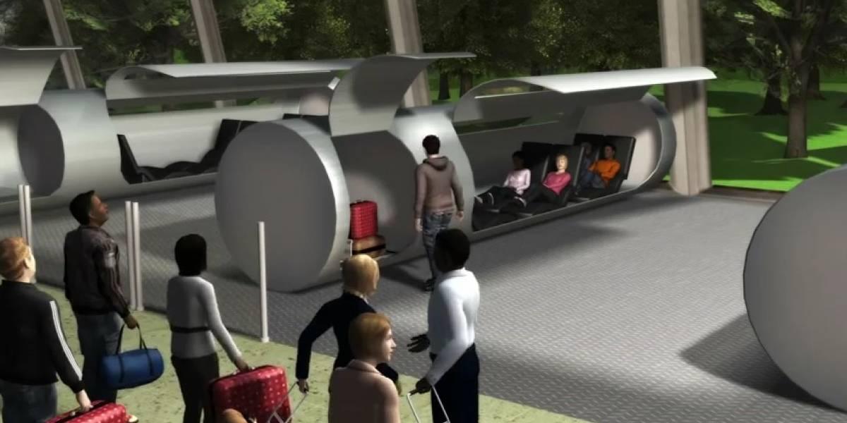 Concepto: Transportador ET3 promete trasladar personas de Nueva York a Los Angeles en 45 minutos