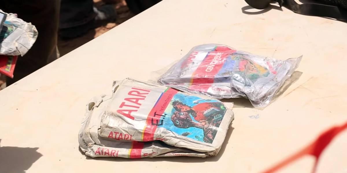 Cartuchos desenterrados de E.T. se subastarán en eBay