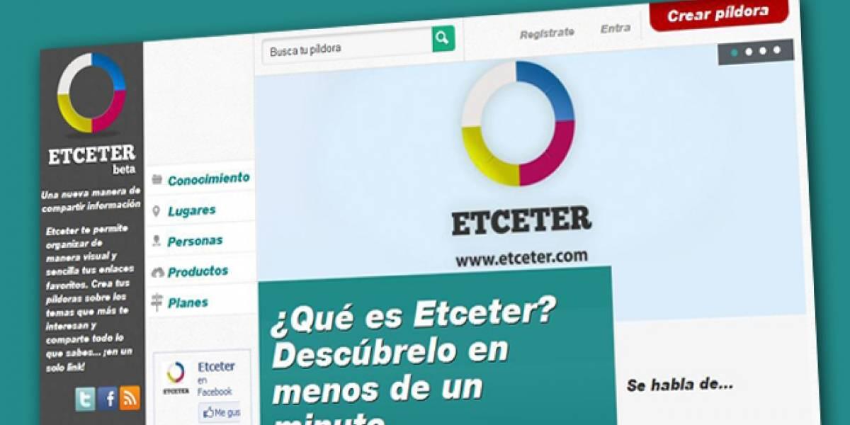 España: Etceter, una página para compartir conocimiento en la Red