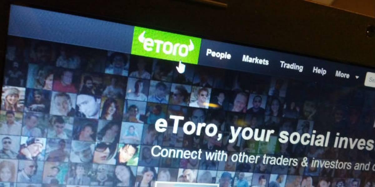 Red social para inversionistas eToro entraría a Latinoamérica a través de Chile