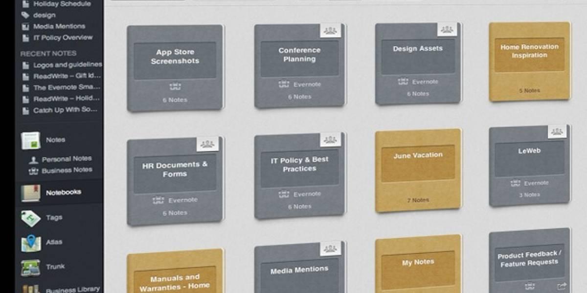Evernote lanza su versión para empresas en español