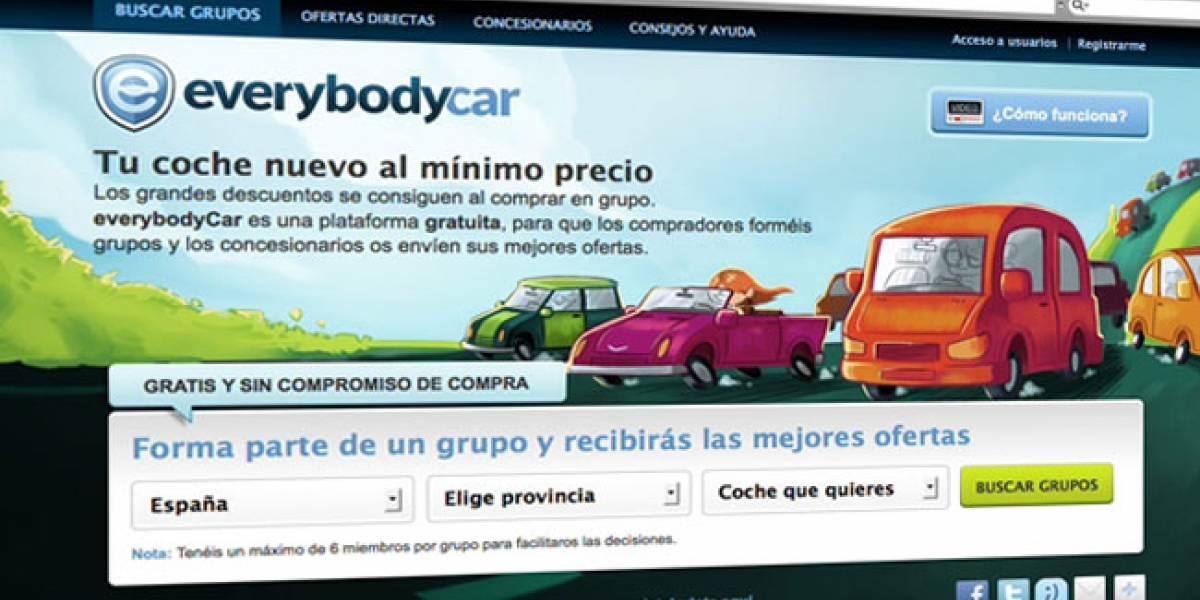 EverybodyCar: Una plataforma de compra colectiva de vehículos con acento español